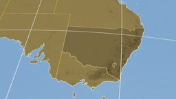 New South Wales extruded. Bumps Stock Video Footage