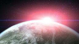 earth flare Animation