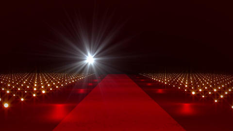 On The Red Carpet 23 flashes Stock Video Footage