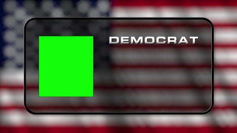USA Presidential Election Vote 03 loop GS Animation