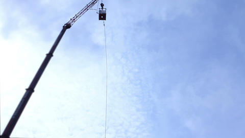 bungee jumping Stock Video Footage