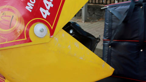 mcdonald's motorcycles Stock Video Footage