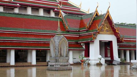Buddhist Temple Stock Video Footage