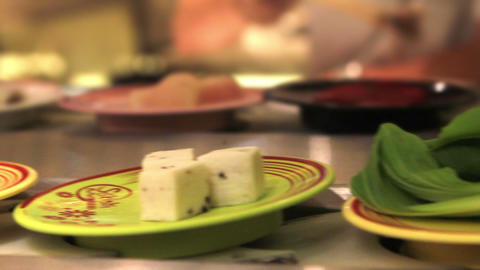 Spicy Thai foods Stock Video Footage