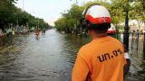 Street under flood Footage
