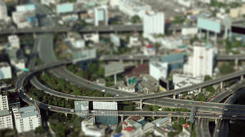 miniature city Stock Video Footage