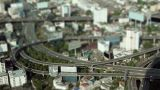Miniature City stock footage