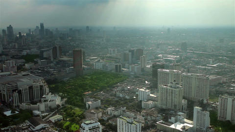 City panaroma Stock Video Footage