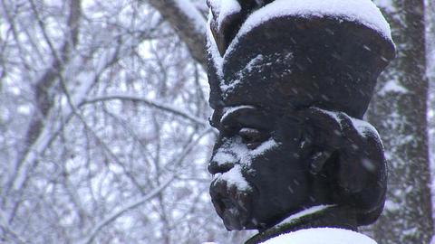snow hetman 1 Stock Video Footage