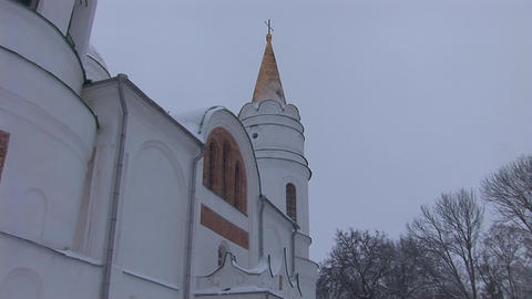 snow temple 3 Footage