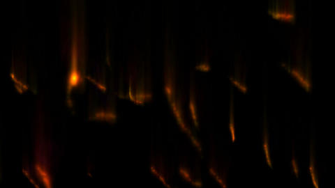 Fire trails Stock Video Footage