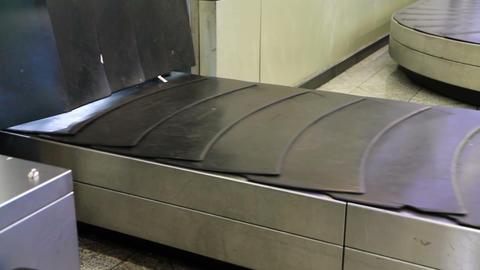 Baggage conveyor2 Stock Video Footage