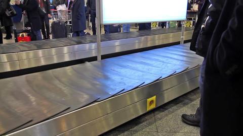 Virtual luggage Stock Video Footage