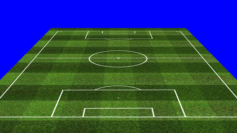 3D BS Football Lineup 343 Stock Video Footage