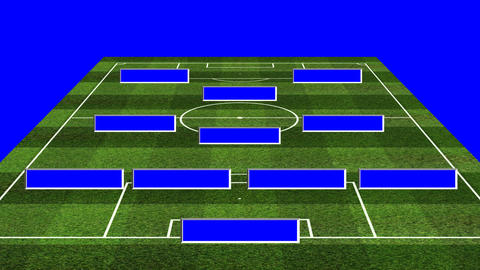 3D BS Football Lineup 4312 Animation