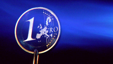10630 crisis euro start glowing close Stock Video Footage