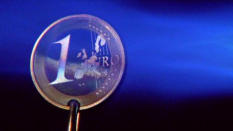 10630 crisis euro start glowing close Stock Video Footage