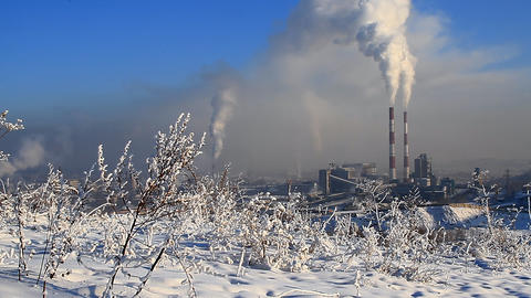 Power Station 6 Stock Video Footage