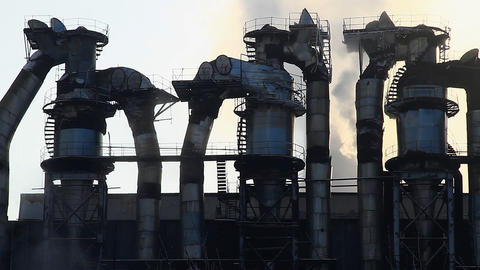 Power Station32 Stock Video Footage