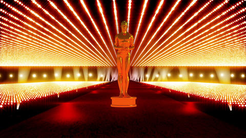 On The Red Carpet 09 Award Stock Video Footage