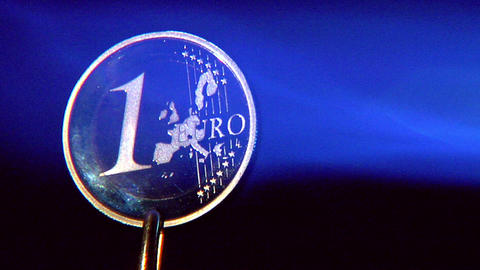 10629 crisis euro under hot fire close Stock Video Footage