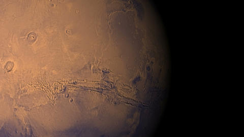 mars voyage Stock Video Footage