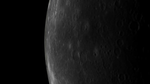 mercury orbit Stock Video Footage