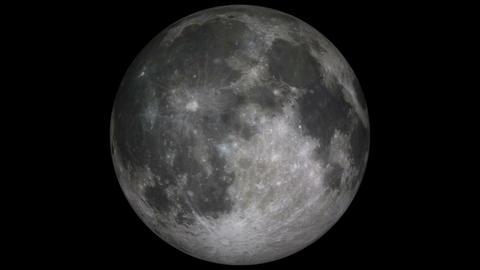 moon loop Stock Video Footage