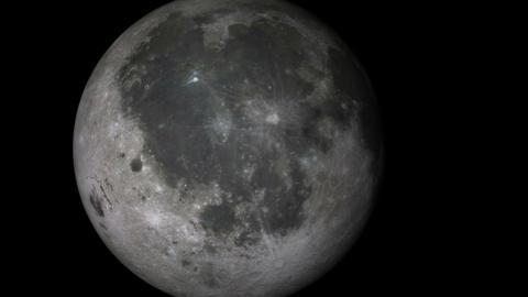 moon voyage Stock Video Footage