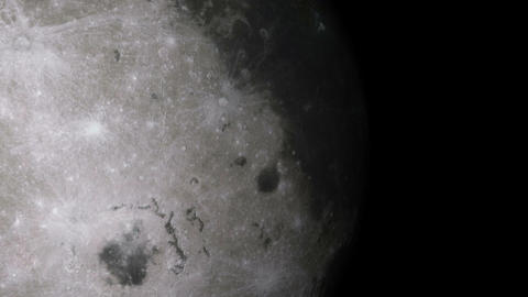 moon voyage Stock Video Footage