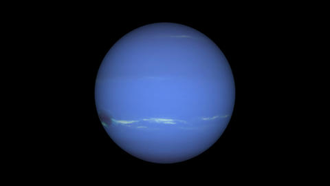 neptune loop Stock Video Footage