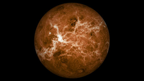 Planet Venus In Space Stock Animation | Royalty-Free Stock ...