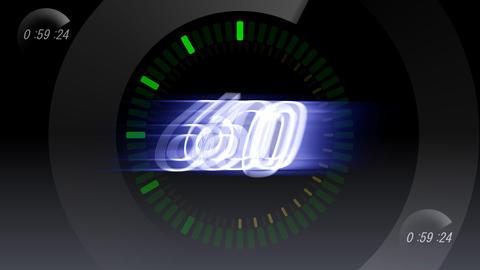 CountDown 120 B1b1 HD Stock Video Footage