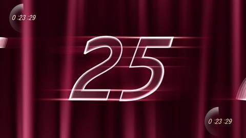 CountDown 120 C2b1 HD Stock Video Footage