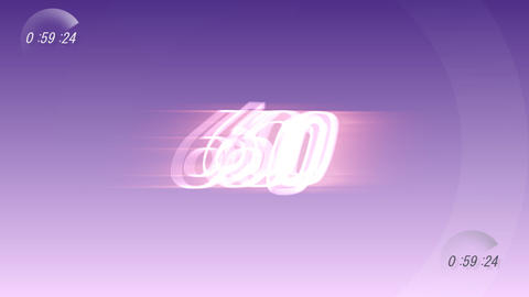 CountDown 120 E1a1 HD Stock Video Footage