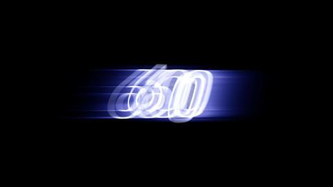 CountDown 120 E1b1 HD Stock Video Footage