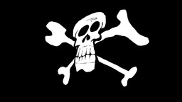 PIRATE FLAG Animation