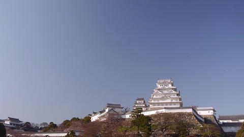 Himeji Temple 125 Footage