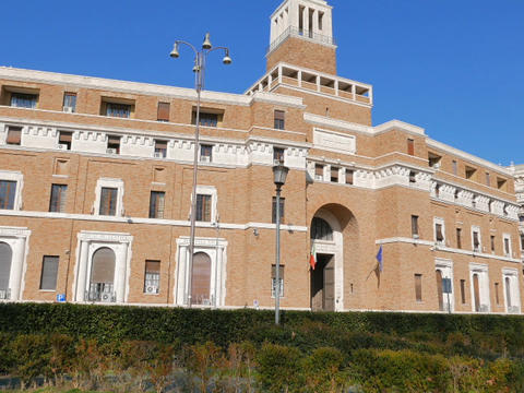 Tribunale di Sorveglianza. (supervisory review court) Rome, Italy. 640x480 Footage