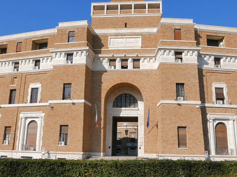 Tribunale Di Sorveglianza. (supervisory Review Court) Rome, Italy. 640x480 stock footage