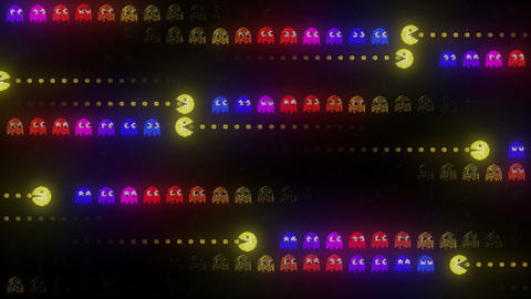 Arcade LED On the Hunt Animation