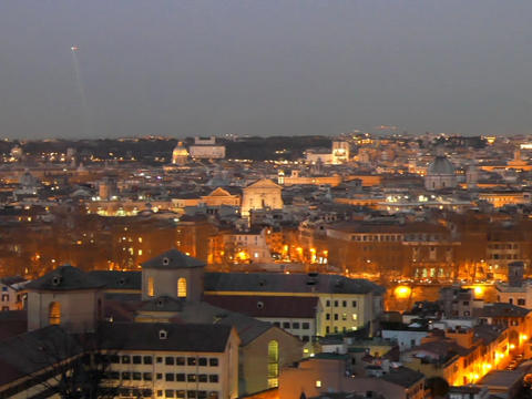 Rome by night. Italy. 640x480 Live Action