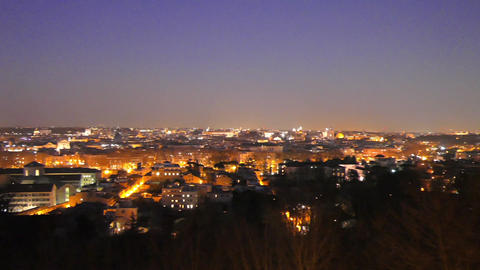 Rome by night. Italy. 1280x720 Live Action