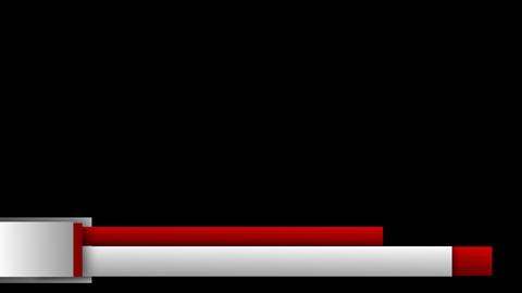 Logo Lower Third stock footage