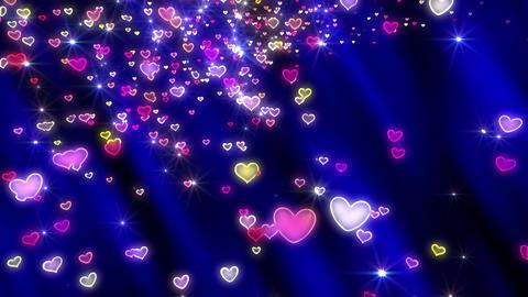 Heart neon p tornado Ja 4 K Animation