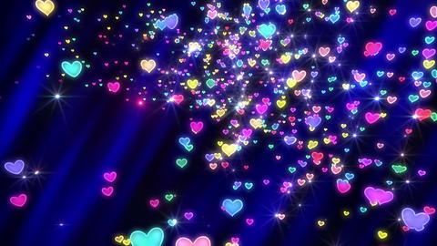 Heart neon r tornado Ja 2 4 K Animation