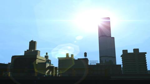 City Flight 1 stock footage