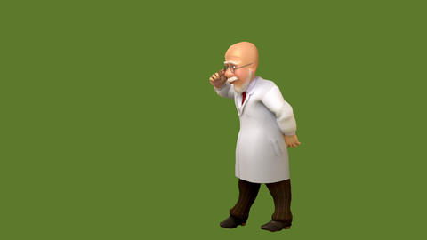 Professor takes a look Animation