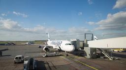 helsinki airport flight travel Footage