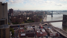 new york skyline manhattan NYC ny timelapse Footage